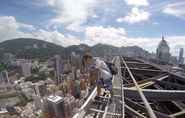Chine: Il gagne sa vie en menaçant de se suicider du haut des tours
