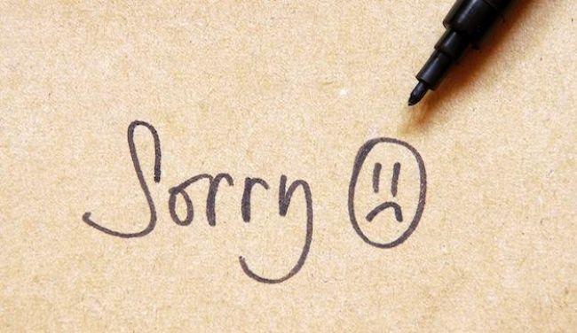 7 choses pour lesquelles vous devez arrêter de vous excuser