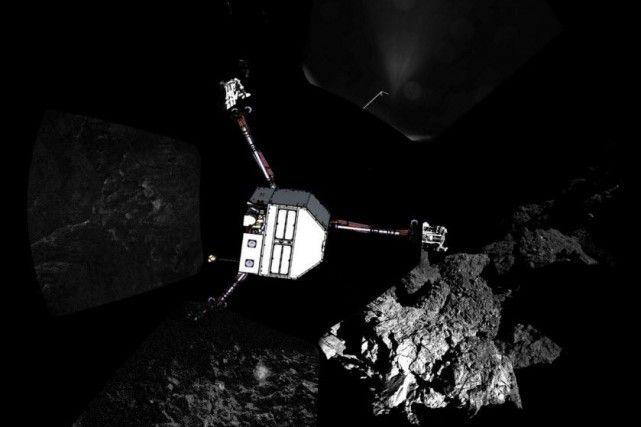 Philae a foré la comète avant de se mettre en veille