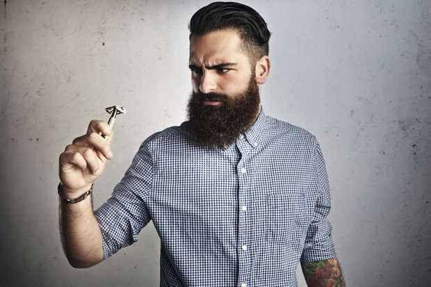 Les barbes sont pleines de bactéries, elles ne sont pas dangereuses pour autant