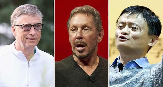 Les 100 personnes les plus riches du secteur high-tech