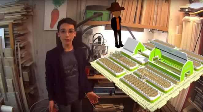 Eliott, jeune Français de 14 ans repéré par Google