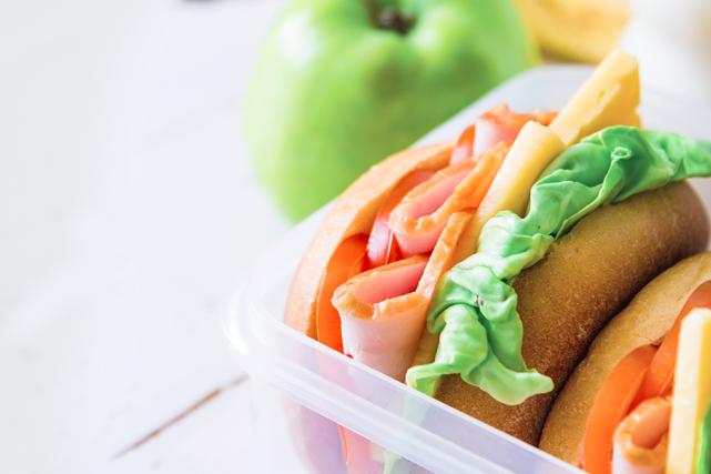 6 stratégies pour des boîtes à lunch santé et amusantes
