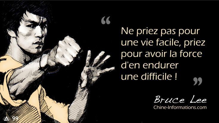 25 citations de Bruce Lee sur la maîtrise de soi