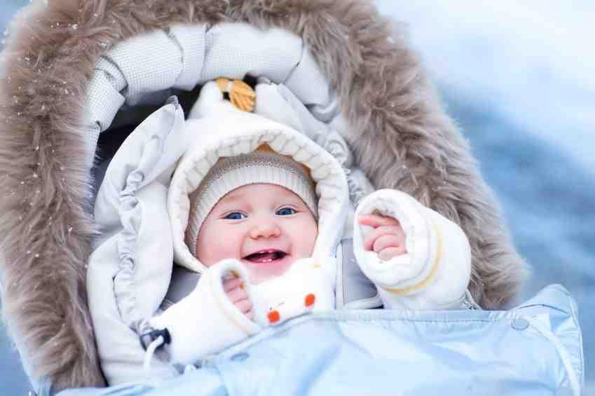 3 astuces pour faire sortir bébé quand il fait très froid