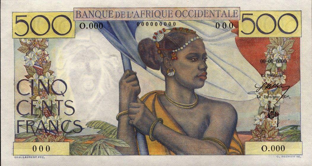 26 décembre 1945 - Création du franc CFA