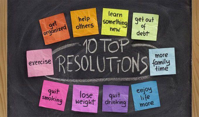 Les 10 résolutions populaires du nouvel an