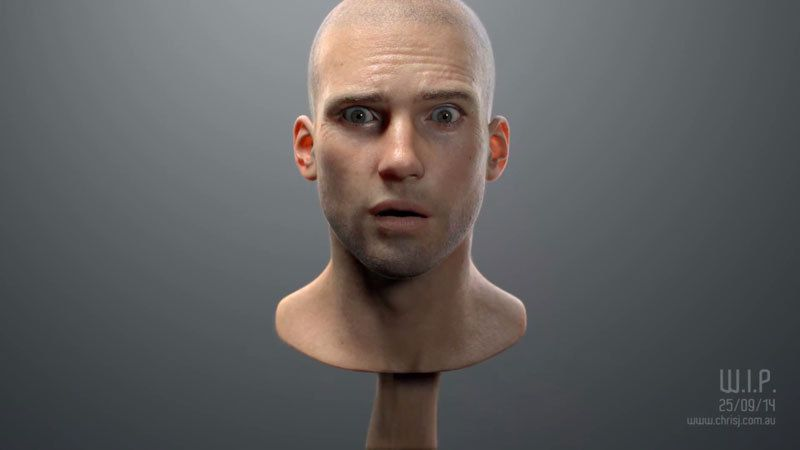 Manger de la viande crue a changé le visage de l'homme