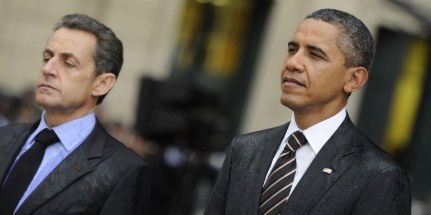 Intervention en Libye en 2011 : pour Barack Obama, Nicolas Sarkozy &quot&#x3B;voulait se mettre en avant&quot&#x3B;
