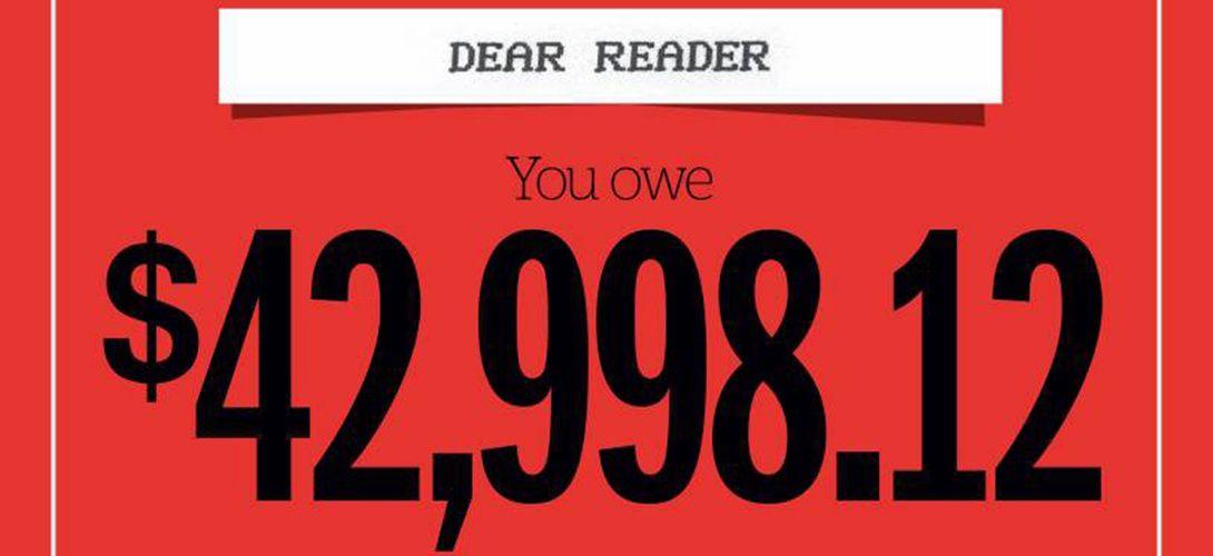 Arrêtons de parler de la dette en la calculant par habitant
