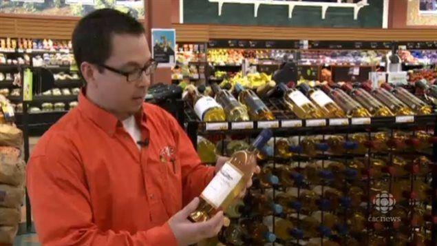 Le vin en épicerie attire les consommateurs au Nouveau-Brunswick