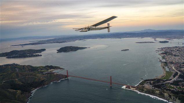 Le Solar Impulse 2 réussit sa traversée du Pacifique