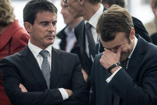 Valls à propos de Macron : « C'est au président de la République de le traiter »