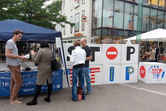 L'émoi allemand après les révélations sur le TTIP