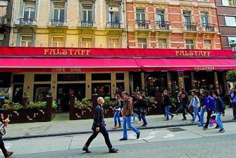 Bruxelles: la célèbre brasserie Falstaff n'est plus