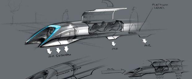 La compagnie ferroviaire française investit dans l'Hyperloop
