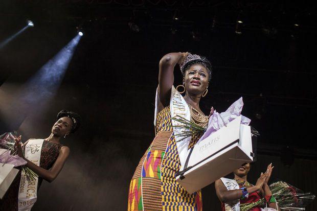 La première Miss Afrique élue en Afrique est Ghanéenne