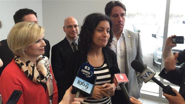 Appui moral de la ministre de l'Économie pour Premier Aviation à Trois-Rivières