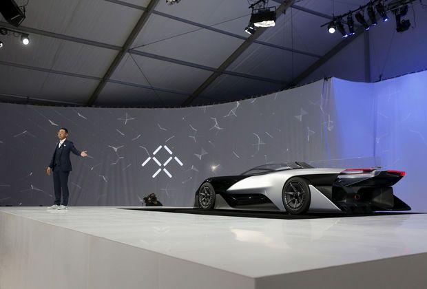 'La voiture électrique de Faraday Future plus puissante que la Tesla'