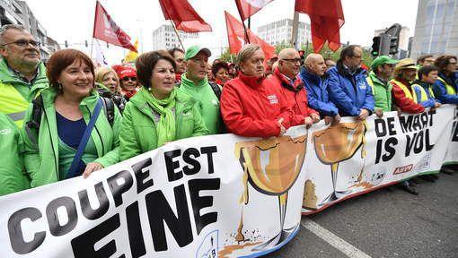 Les syndicats unis pour une concertation sociale &quot&#x3B;équitable&quot&#x3B;