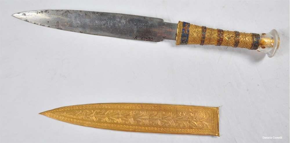 La lame de la dague de Toutânkhamon est en métal extraterrestre!