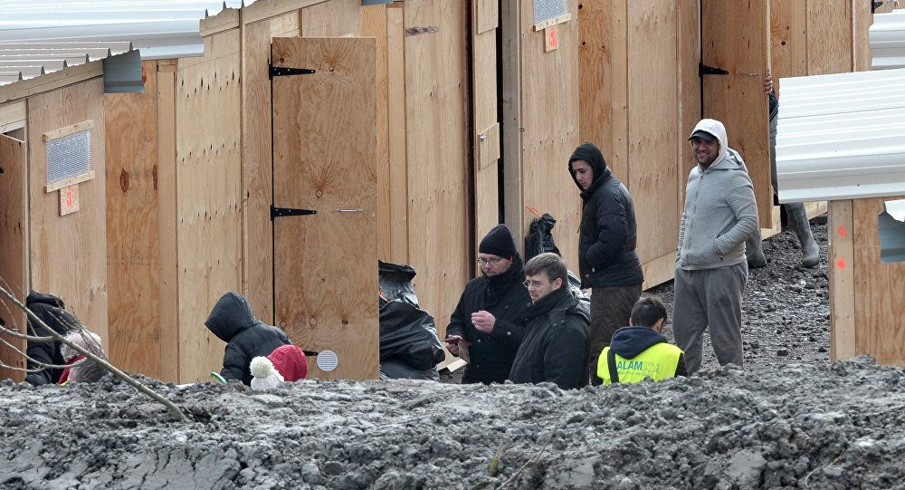 L'État soutient le premier camp humanitaire de France