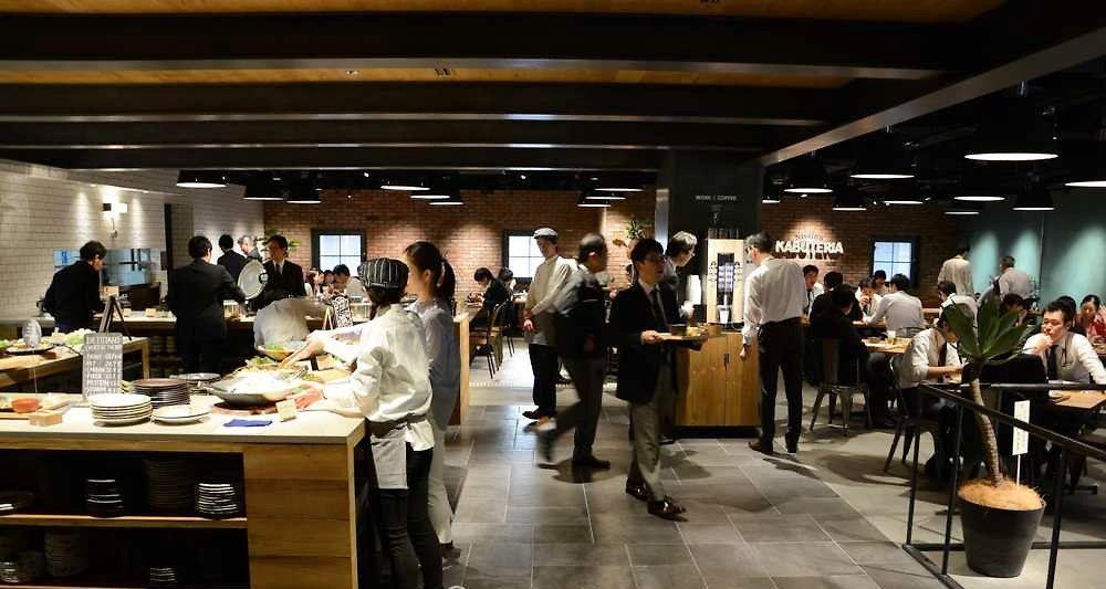 Au Japon, une cantine où la qualité des repas suit le cours de la Bourse