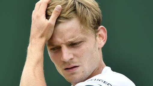 David Goffin battu en 5 sets par Milos Raonic
