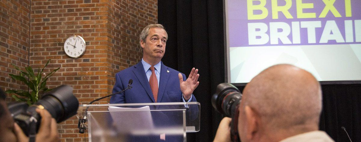 La démission de Nigel Farage, un coup de bluff?