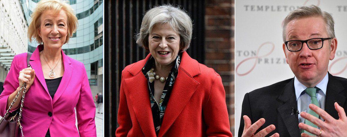 Trois candidats pour succéder à David Cameron