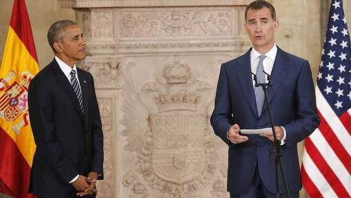 Obama plaisante sur son premier séjour en Espagne, à 26 ans, en mode &quot&#x3B;routard&quot&#x3B;