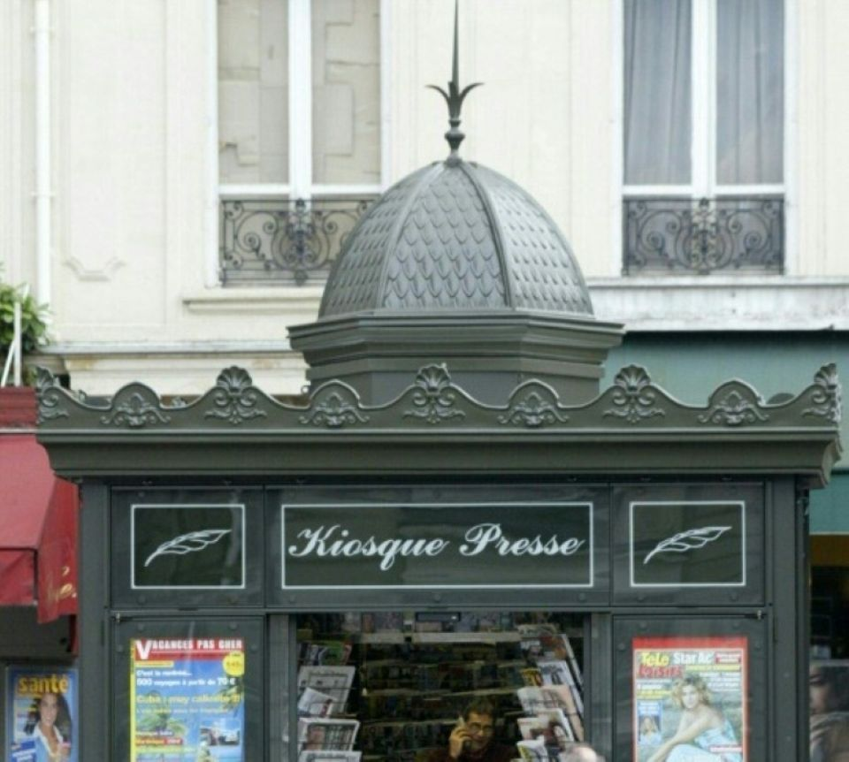 Les anciens kiosques parisiens seront bien remplacés