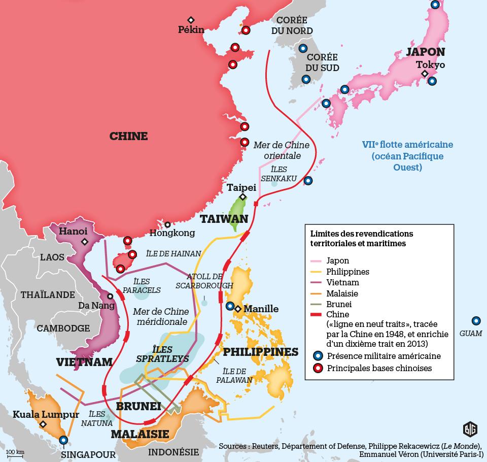 10 questions pour comprendre le conflit en mer de Chine méridionale