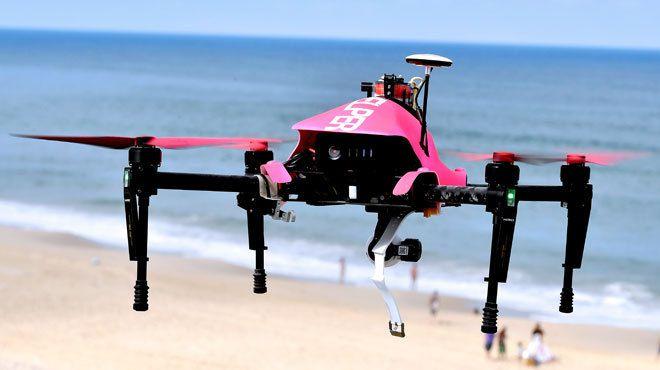 Qu'ont commandé les clients de la première livraison par drone civil aux Etats-Unis?