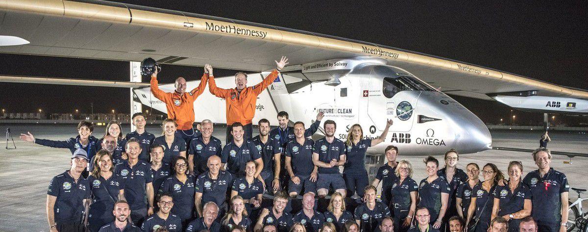 Solar Impulse réécrit l'histoire de l'aviation