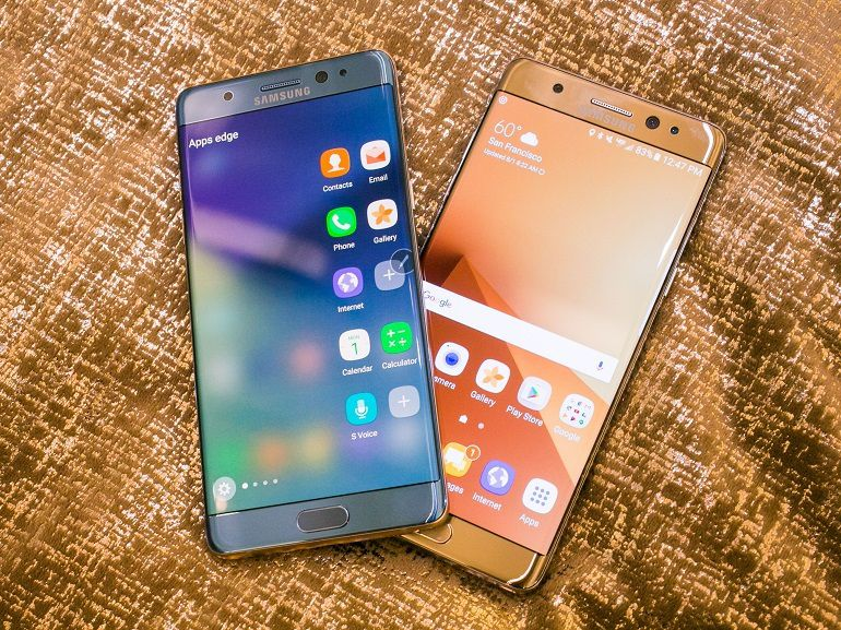 Test Samsung Galaxy Note 7