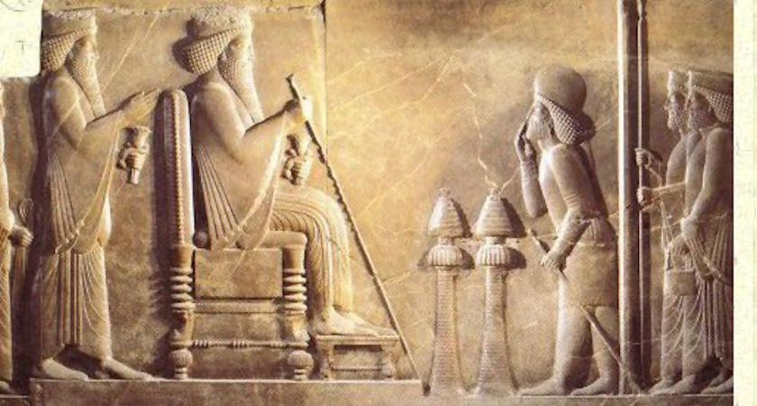 Une stèle avec une inscription du roi perse Darius découverte en Russie