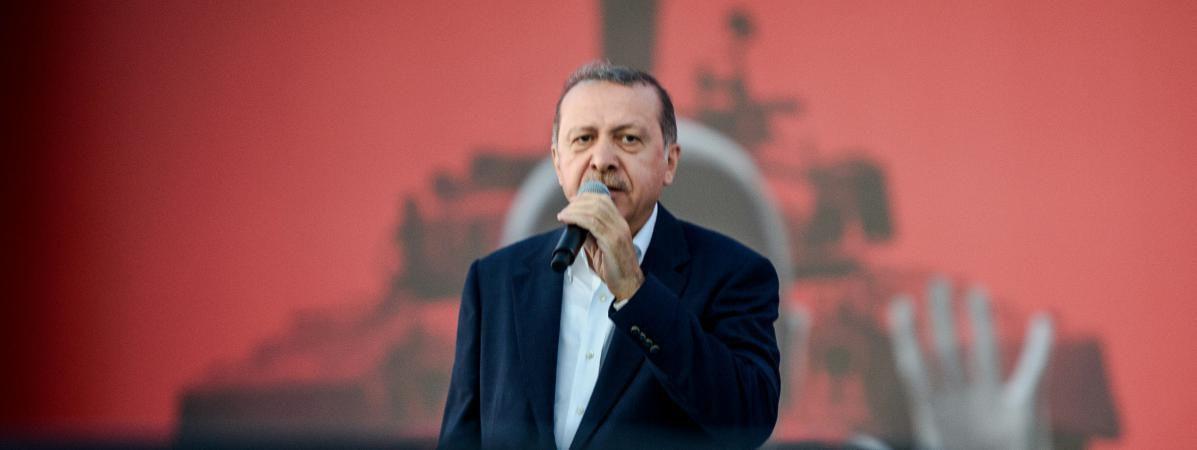 Erdogan n'acceptera les renvois de migrants que si les Turcs sont exemptés de visas
