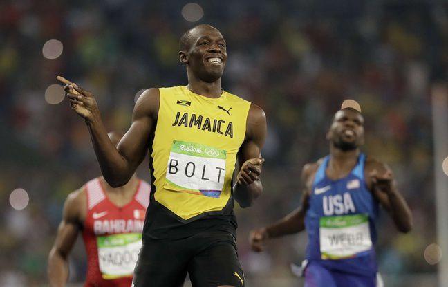 JO 2016: Usain Bolt dans les bras d'une étudiante pour fêter son triplé olympique?