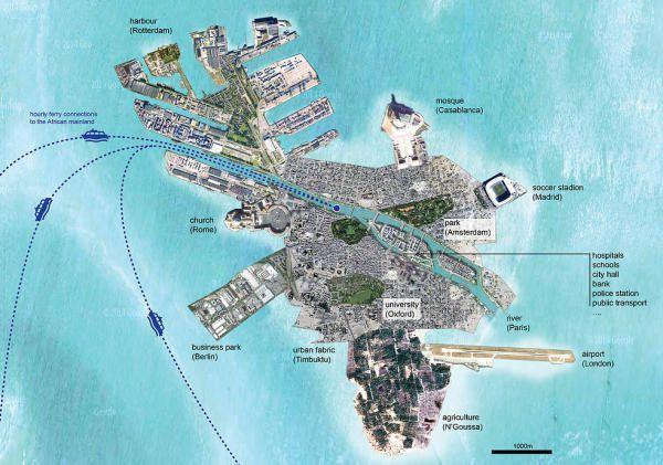 Et si l'on créait une île pour accueillir les migrants?