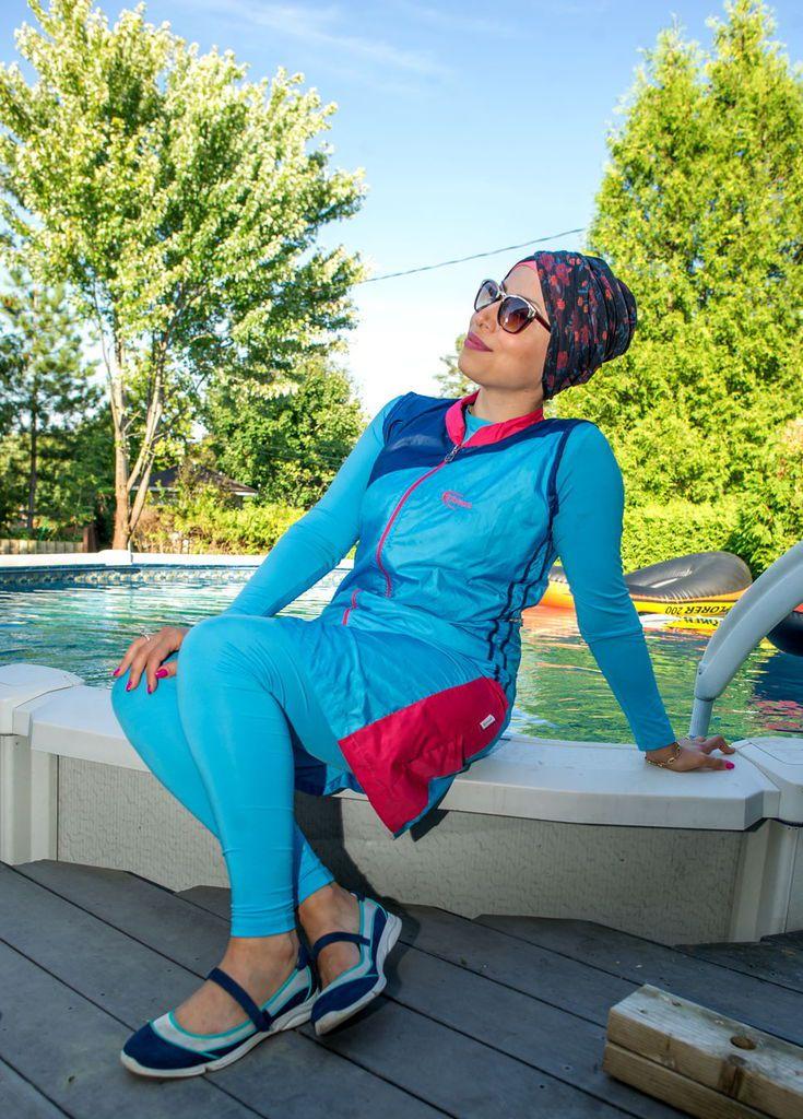 Une musulmane défend son choix de porter le burkini