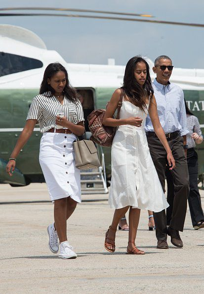 Malia Obama Could Have Easily Stolen These Shoes From Her Mom's Closet