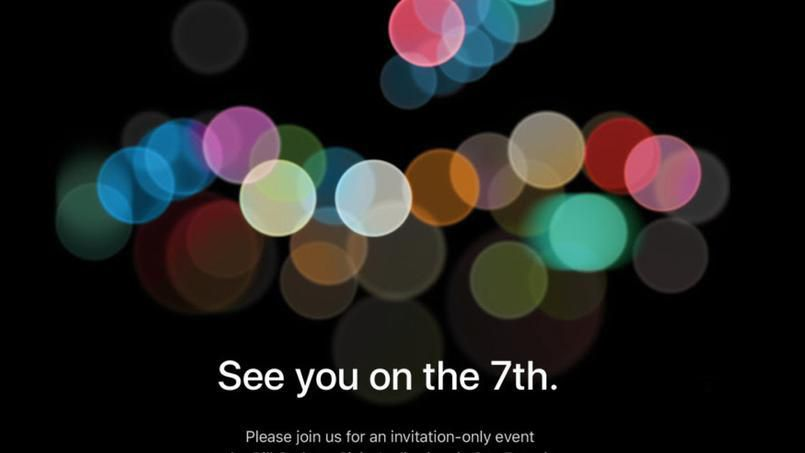 iPhone 7 : Apple donne rendez-vous le 7 septembre