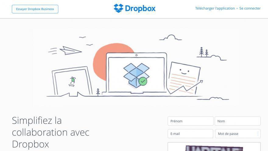 Dropbox confirme le vol de données de 68 millions d'utilisateurs