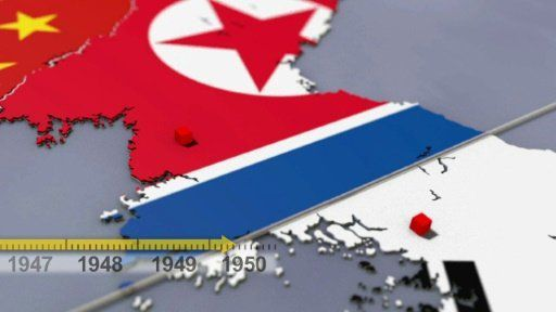 La Corée, une péninsule coupée en deux