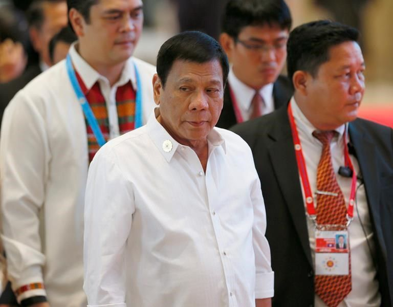 Philippine president reaffirms his deadly anti-drug campaign