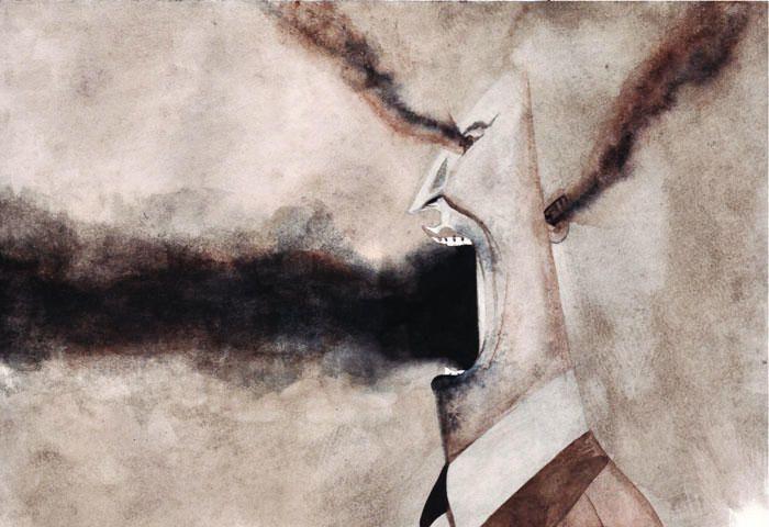 La pollution de l'air s'introduit jusque dans notre cerveau