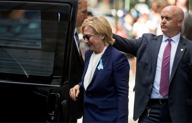 Wikileaks diffuse un sondage douteux après le malaise d'Hillary Clinton