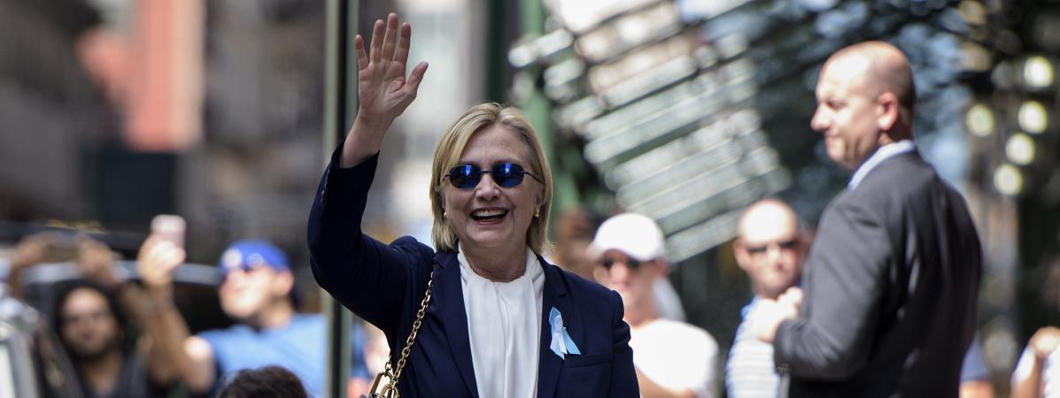 Présidentielle américaine : Hillary Clinton assure qu'elle &quot&#x3B;va beaucoup mieux&quot&#x3B;