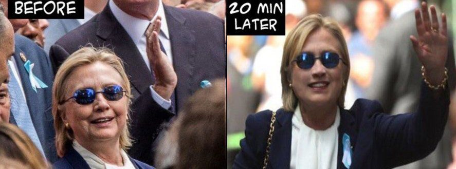 Photos. Hillary Clinton a t-elle un sosie?